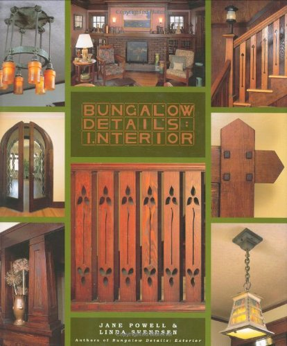 Bungalow Details: Interior: Powell, Jane and Svendsen,,