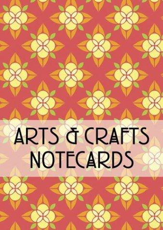 9781586853310: Arts & Crafts Notecards