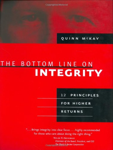 9781586853808: The Bottom Line On Integrity