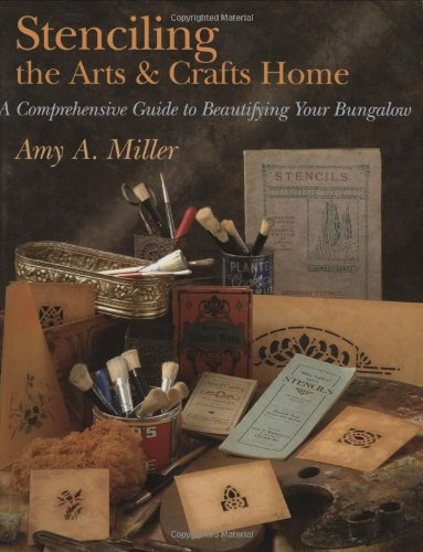 9781586854393: Stenciling the Arts & Crafts Home