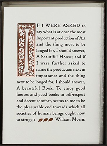 9781586856335: Beautiful House, A boxed (Williams Morris Collection)
