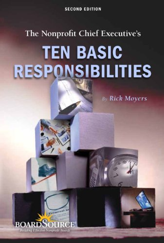 9781586861308: The Nonprofit Chief Executive's Ten Basic Responsibilities
