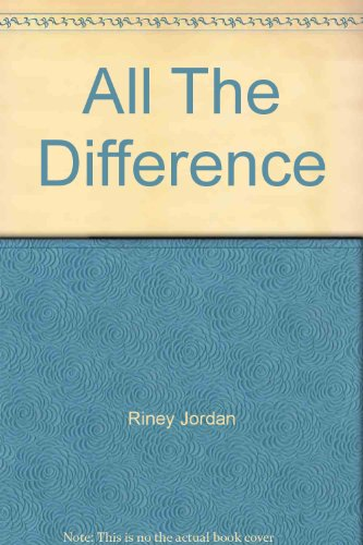 9781586950064: All The Difference