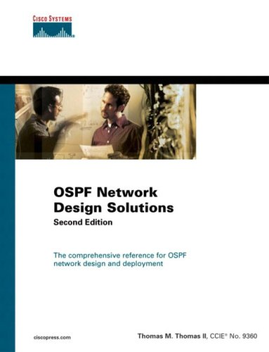 OSPF Network Design Solutions (2nd Edition): Tom Thomas