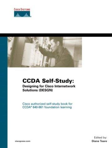 9781587051418: CCDA Self-Study: Designing for Cisco Internetwork Solutions (DESGN) 640-861