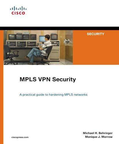 9781587051838: MPLS VPN Security
