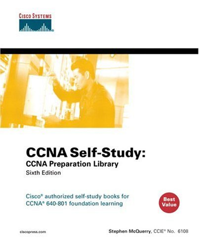 9781587051845: CCNA Self-Study: CCNA Preparation Library (640-801) (6th Edition)