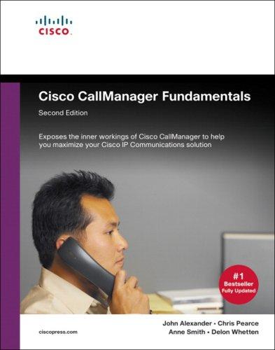 9781587051920: Cisco CallManager Fundamentals (2nd Edition)
