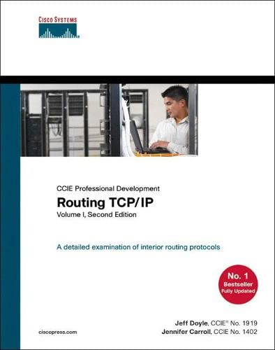 9781587052026: Routing TCP/IP, Volume 1 (2nd Edition)