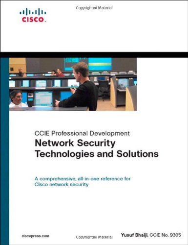 9781587052460: Network Security Technologies and Solutions (CCIE Professional Development Series)