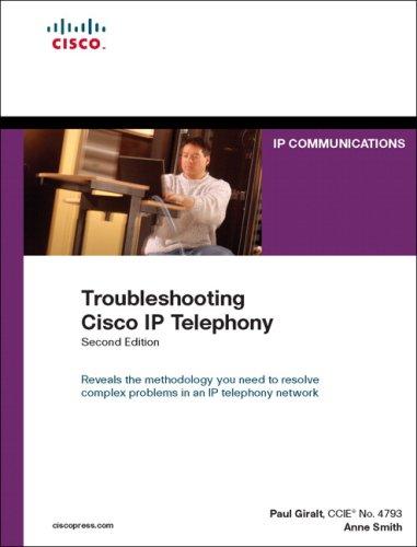 9781587053443: Troubleshooting Cisco IP Telephony (2nd Edition)