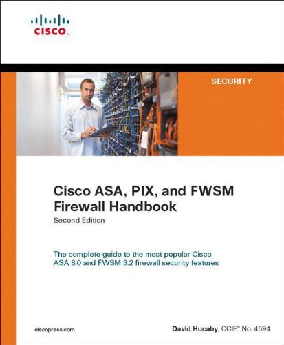 9781587054570: Cisco ASA, PIX, and FWSM Firewall Handbook