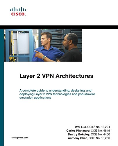 9781587058486: Layer 2 VPN Architectures (paperback) (Networking Technology)