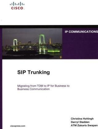 9781587059445: SIP Trunking (Networking Technology Series)