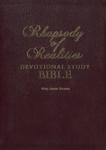 9781587121852: RHAPSODY OF REALITIES DEVOTIONAL STUDY BIBLE (KING JAMES VERSION)