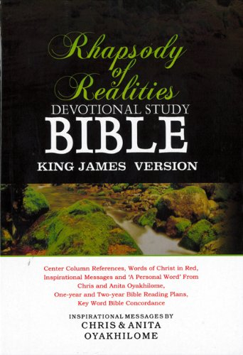 9781587121982: KJV Rhapsody Of Realities Devotional Bible