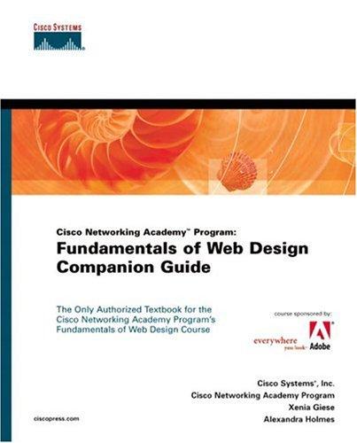 9781587130663: Fundamentals of Web Design Companion Guide (Cisco Networking Academy Program)