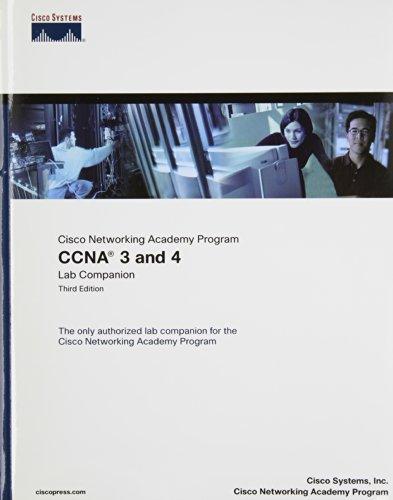 9781587131486: CCNA 3 & 4 Lab Companion & Engineering Journal Workbook