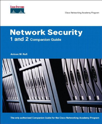 9781587131622: Network Security 1 and 2 Companion Guide (Cisco Networking Academy)