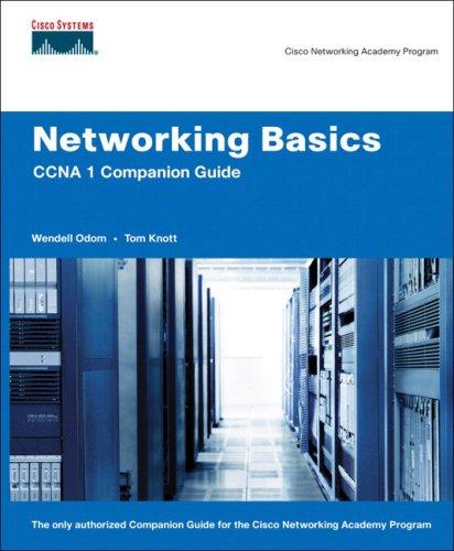 Networking Basics CCNA 1 Companion Guide (Cisco: Wendell Odom, Thomas