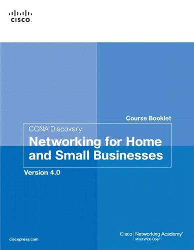 9781587132421: CCNA Discovery Course Booklet: Networking for Home