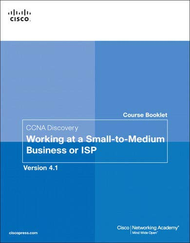 9781587132537: Course Booklet for CCNA Discovery Working at a Small-to-Medium Business or ISP, Version 4.1