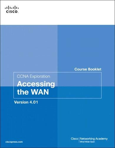 9781587132551: Course Booklet for CCNA Exploration Accessing the WAN, Version 4.0