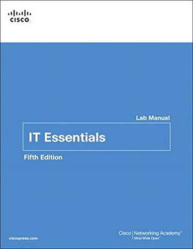 9781587133107: IT Essentials Lab Manual (5th Edition) (Lab Companion)