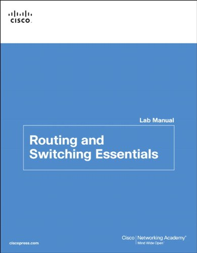 9781587133206: Routing and Switching Essentials Lab Manual (Lab Companion)