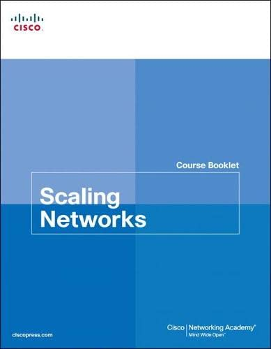 9781587133244: Scaling Networks Course Booklet (Course Booklets)