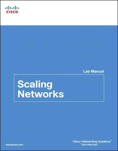 9781587133251: Scaling Networks Lab Manual (Lab Companion)