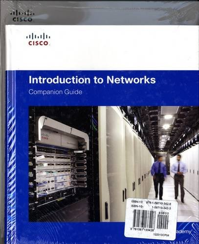 Introduction to Networks Companion Guide and Lab: Cisco Networking Academy