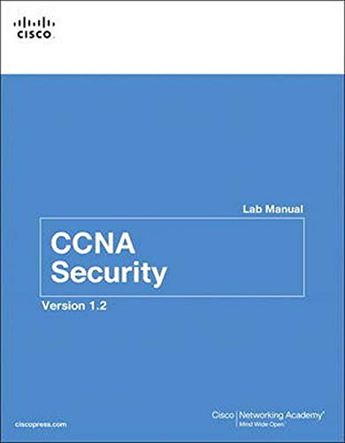 9781587133473: CCNA Security Lab Manual Version 1.2 (3rd Edition) (Lab Companion)