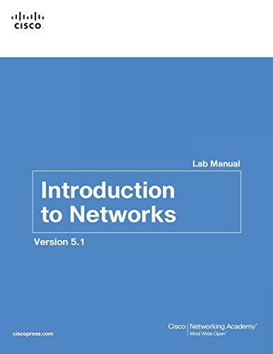 9781587133534: Introduction to Networks Lab Manual v5.1 (Lab Companion)