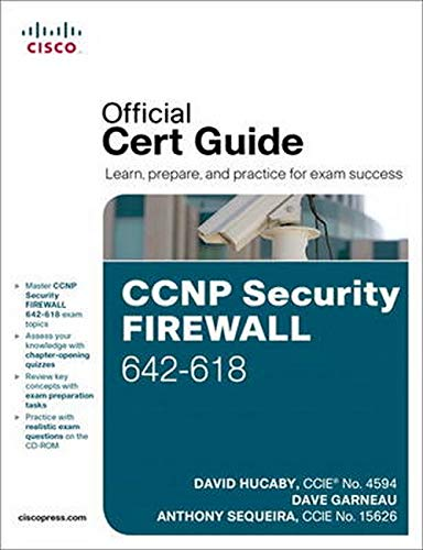 9781587142710: CCNP Security FIREWALL 642-618 Official Cert Guide
