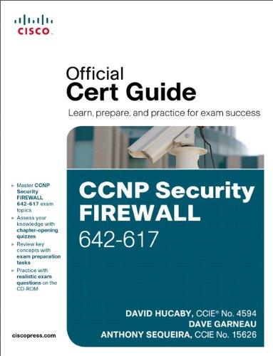9781587142796: CCNP Security FIREWALL 642-617 Official Cert Guide