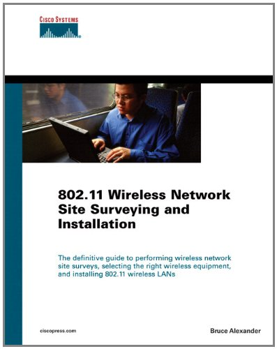 9781587142987: 802.11 Wireless Network Site Surveying and Installation (paperback) (Networking Technology)