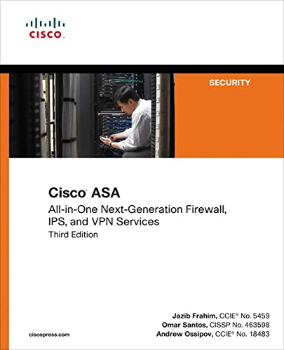 9781587143076: Cisco ASA: All-in-one Next-Generation Firewall, IPS, and VPN Services (3rd Edition)