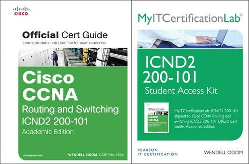9781587143748: Cisco CCNA R&S ICND2 200-101 Official Cert Guide Wth MyITCertificationLab Bundle