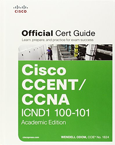 9781587143861: Cisco CCENT/CCNA ICND1 100-101 Official Cert Guide Academic Edition with MyITCertificationlab Bundle