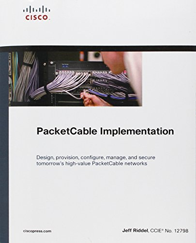 9781587143946: PacketCable Implementation (paperback) (Networking Technology)