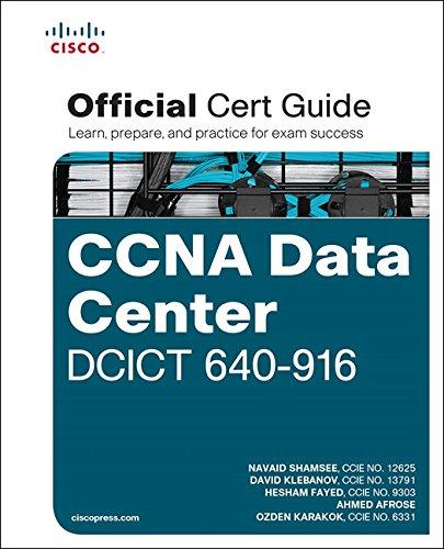 9781587144226: CCNA Data Center DCICT 640-916 Official Cert Guide