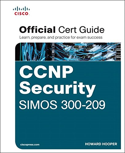 9781587144288: CCNP Security SIMOS 300-209 Official Cert Guide (Certification Guide)