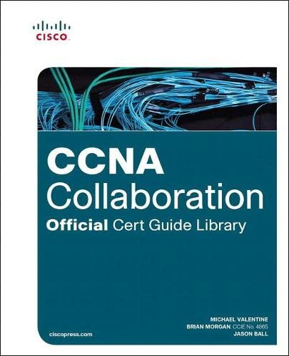9781587144448: CCNA Collaboration Official Cert Guide Library (Exams CICD 210-060 and CIVND 210-065)