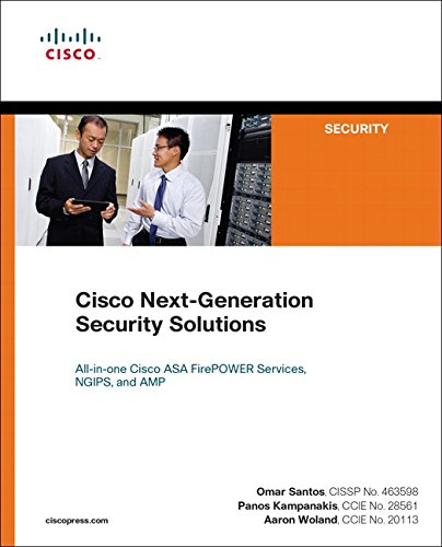 9781587144462: Cisco Next-Generation Security Solutions: All-in-one Cisco ASA Firepower Services, NGIPS, and AMP (Networking Technology: Security)