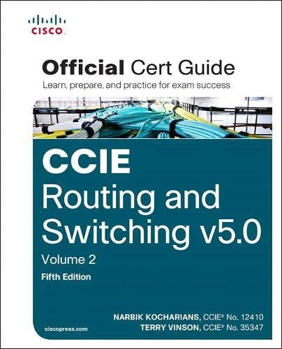 9781587144912: CCIE Routing and Switching v5.0 Official Cert Guide, Volume 2 (5th Edition)