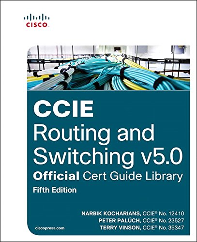 9781587144929: CCIE Routing and Switching v5.0 Official Cert Guide Library (5th Edition)