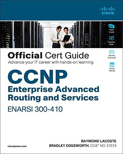 9781587145254: CCNP Enterprise Advanced Routing ENARSI 300-410 Official Cert Guide