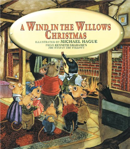 A Wind in the Willows Christmas: Kenneth Grahame. Illustrated