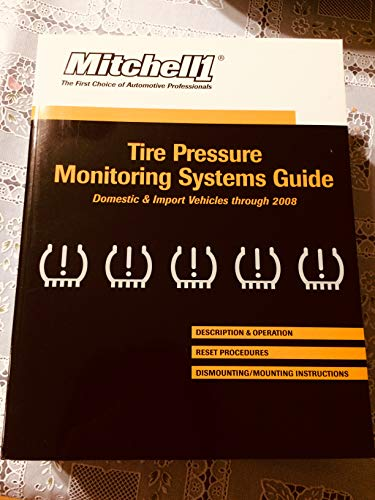 9781587181771: Mitchell 1 - Tire Pressure Monitoring Systems Guide 2008
